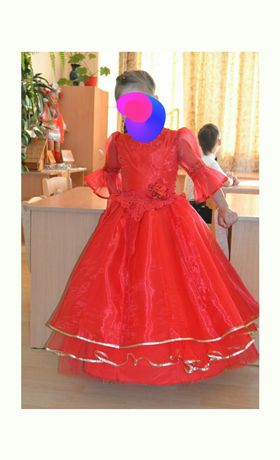 Платье для выпускного детского сада