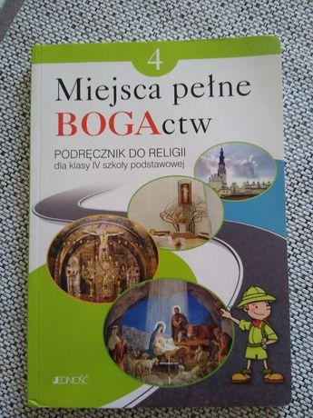 Książka do religii Miejsca pełne Bogactw kl. 4