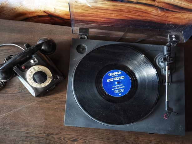 Gramofon adapter Sanyo wzmacniacz