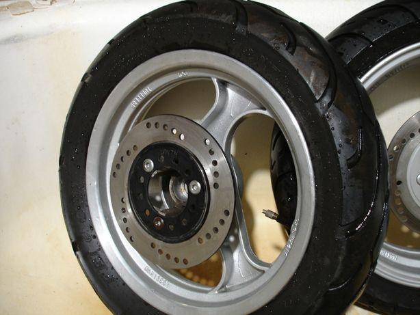 колесо скутер R 12 дисковые тормоза