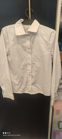 Koszula biała r.134