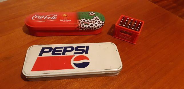 Estojos Coca Cola / Pepsi + Grade Afia CocaCola