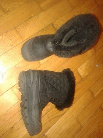 Buty zimowe, śniegowce chłopięce. 34