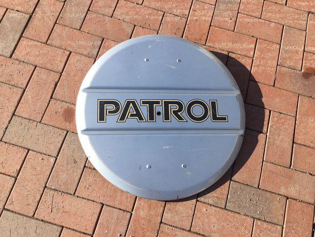 Osłona koła zapaswego Nissan Patrol