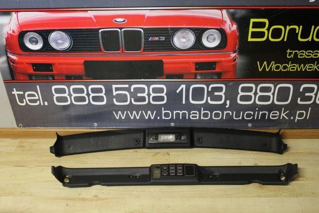BMW E36 CABRIO Blenda Maskownica Górna Dachu Czarna Lampka Części BMA