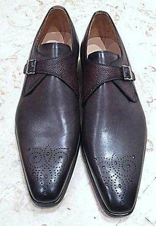 Sapatos Magnanni cinzento escuro 44, edição limitada Tony Miranda