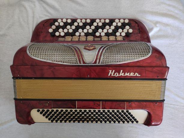 Akordeon guzikowy Hohner Riviera 3 120 basy gryf B