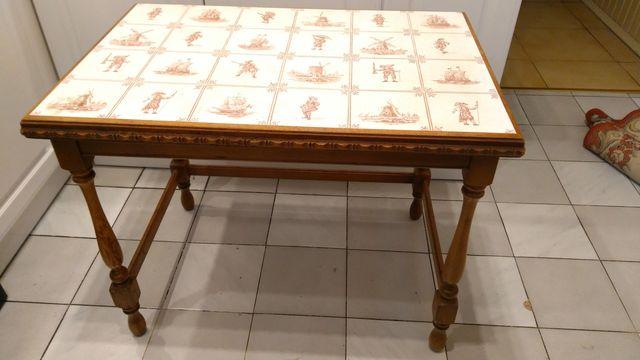 Stolik kawowy, Stół ILSE stolik drewniany ornament