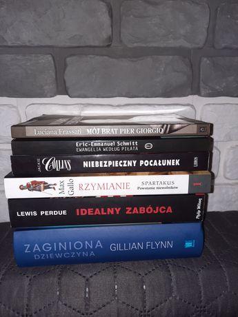 Książki, sensacje, thrillery, komiksy, sportowe