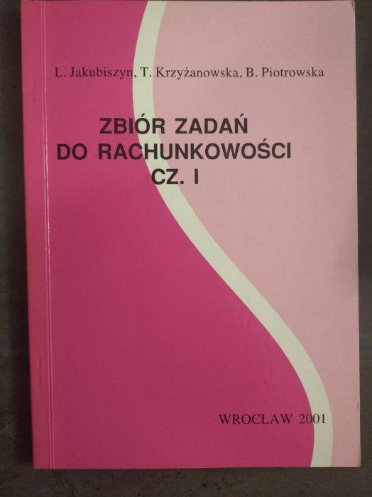 Zbiór zadań do rachunkowości cz. I - Jakubiszyn L. Warszawa - image 1