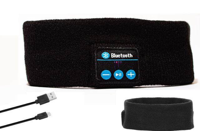 OPASKA SPORTOWA DO BIEGANIA + wbudowane słuchawki bluetooth
