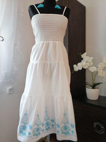 Biała sukienka rozmiar L /XL