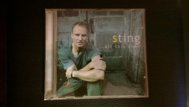 """CD Sting-""""...All this time""""-The Best of Sting"""
