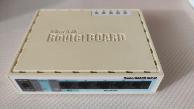 Роутер маршрутизатор Mikrotik 750GL гигабитные порты
