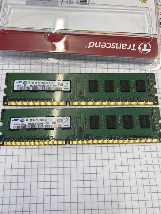 PAMIEC RAM DDR3 4GB (2x2GB) Samsung 1Rx8 PC3-10600U Miastko - image 1