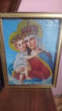 Ікона Божої матері з Ісусом.