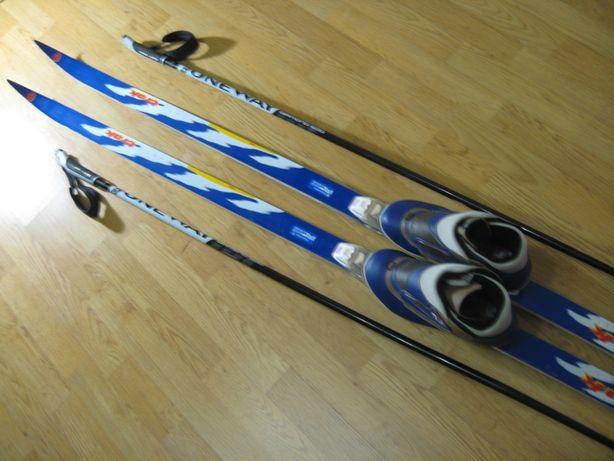 Лыжи беговые TRAK 190см SNS.