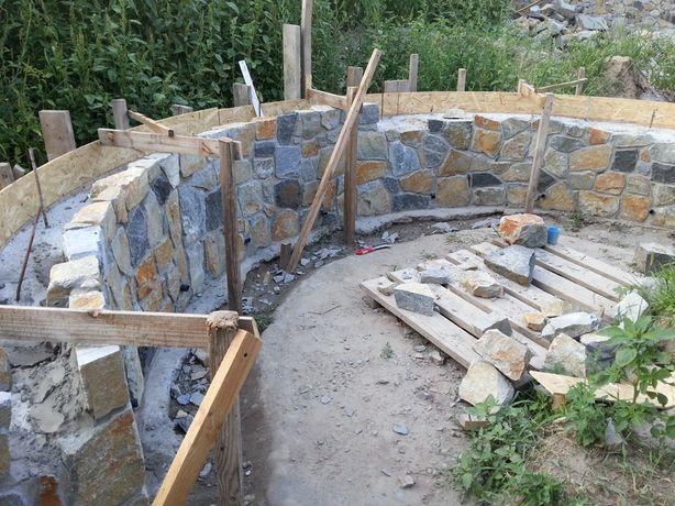 Каменщик,кладка кирпича, бута, бетонные работы, реконструкция