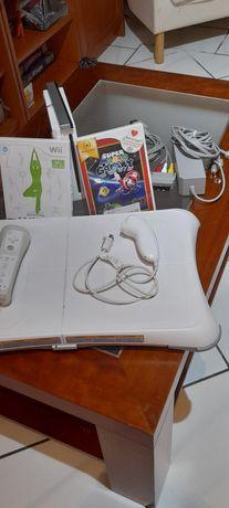Wii branca com comando