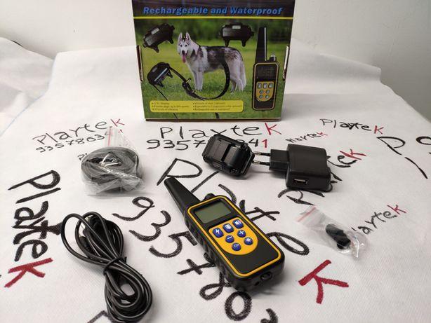 Novo Coleira Adestramento / Treino Cães / anti latido / Recarregável