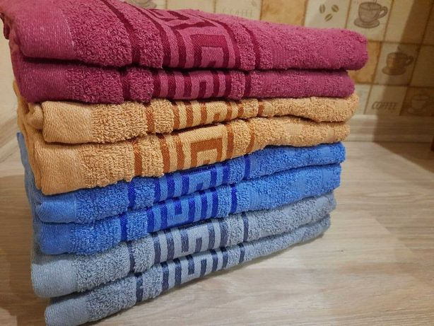 Махрові рушники полотенца,та для кухні з Угорщини  роздріб і опт