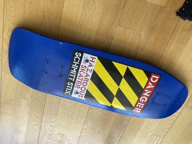 Tabua skate Schmitt Stix Danger Blue Deck