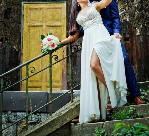 Suknia ślubna stan b dobry