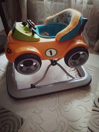 Ходунки - машина с мигалками и звуками Жане JANE