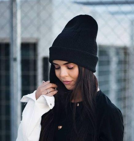 Черная шапка,опт от 3 штук .