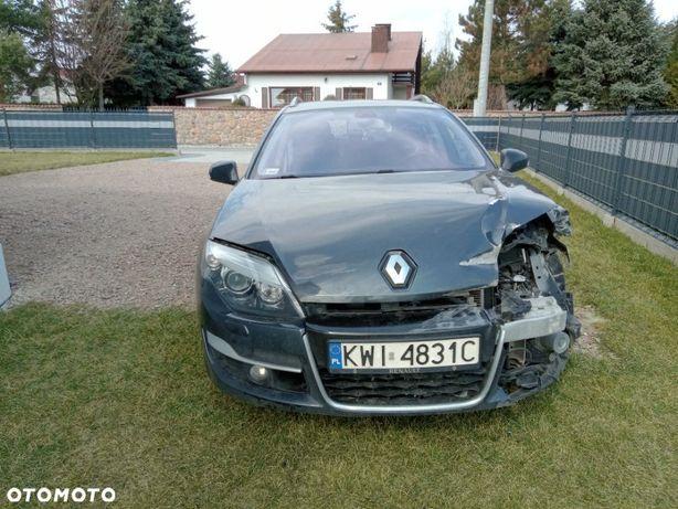 Renault Laguna powypadkowy, salon PL, 81 tys przebiegu, silnik 2.0 dCi M9R814