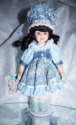 прекрасный подарок фарфоровая кукла из Америки(новая)