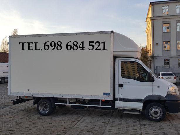 Transport, przeprowadzki, usługi transportowe - zapraszamy