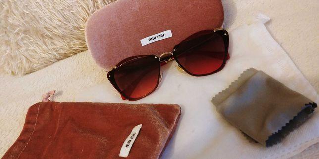 Okulary słoneczne miu miu