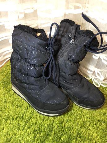 Зимние ботинки для девочки 32 размер