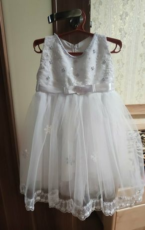 """Плаття """"Сніжинка""""для новорічного свята в садочок на 2,5-3роки"""