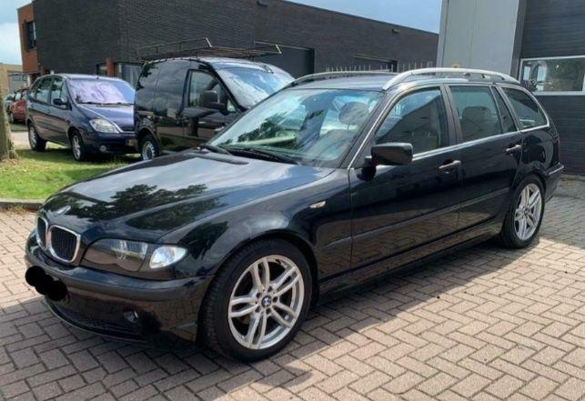 Bmw 318d Touring Black&Silver