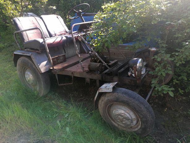 Sam dzik ciągnik ciagniczek traktorek samorobka