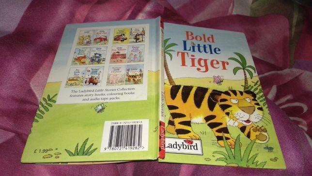 литература на английском книга про тигренка bolt little tiger
