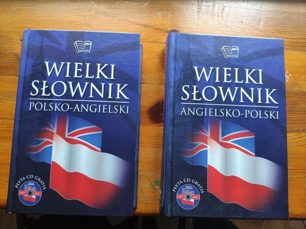 Wielki Słownik polsko-angielski, angielsko-polski + CD Jacek Gordon