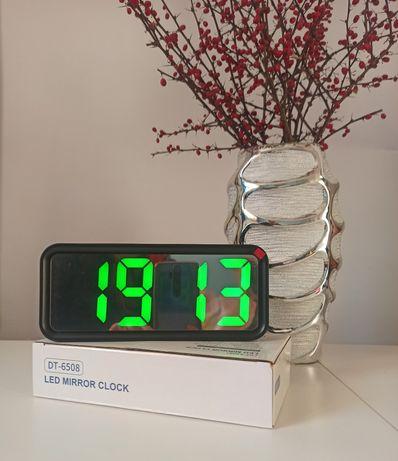 Budzik zegar elektroniczny LED