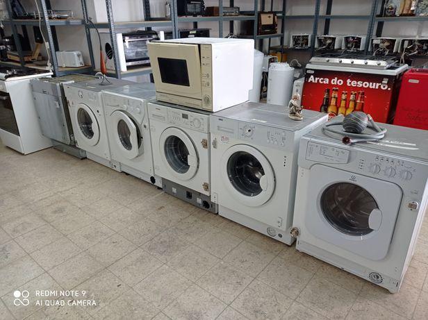 Máquina de encastre roupa e Loiça