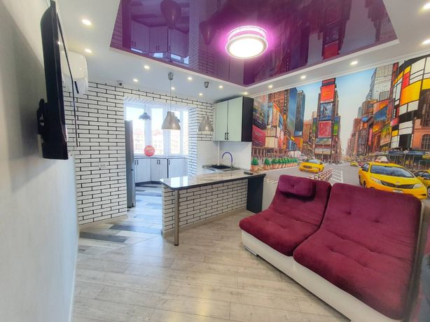 2-х комнатная квартира Набережный квартал Фаворит Бородия Сльоты центр