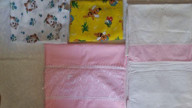 постельное белье для девочки, пеленки. большой набор + куча подарков