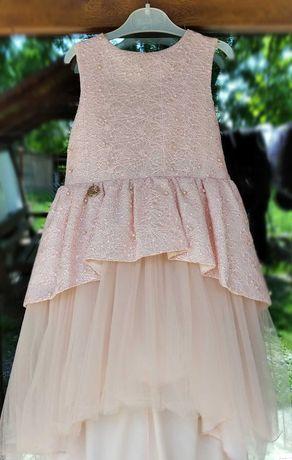 Платье нярядное бальное сукня на выпускной в сад р 122,, пышное плаття