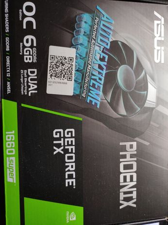 Placa gráfica NVIDIA GeForce GTX 1660 super GDDR6 garantia
