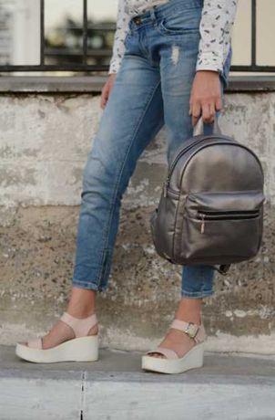 Оплата при получении! Рюкзак женский кожаный, городской, подростковый