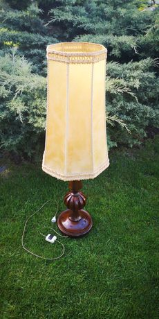 Lampa stojąca wysoka antyk