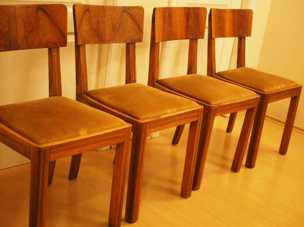 Krzesła drewniane 4 sztuki