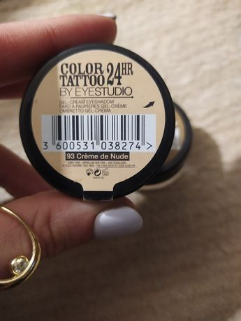 Maybelline cienie color tattoo