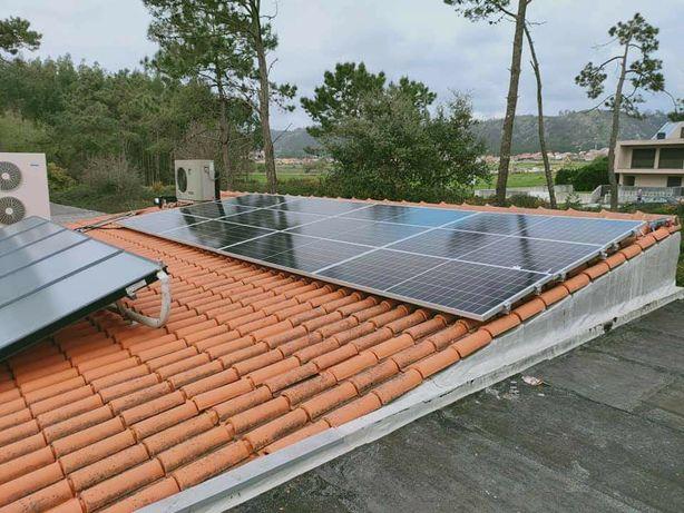 Painéis fotovoltaicos com baterias de lítio (Reembolso de 70%)
